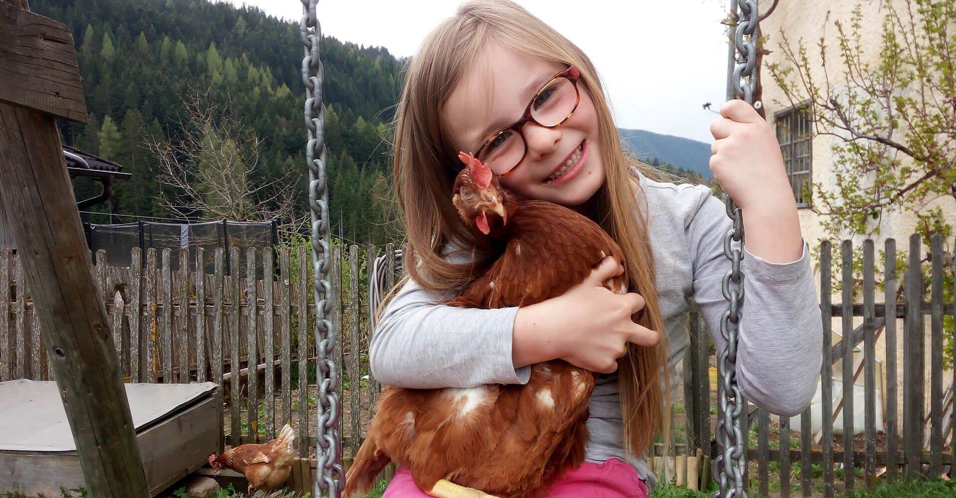 Bauernhofurlaub Eggental