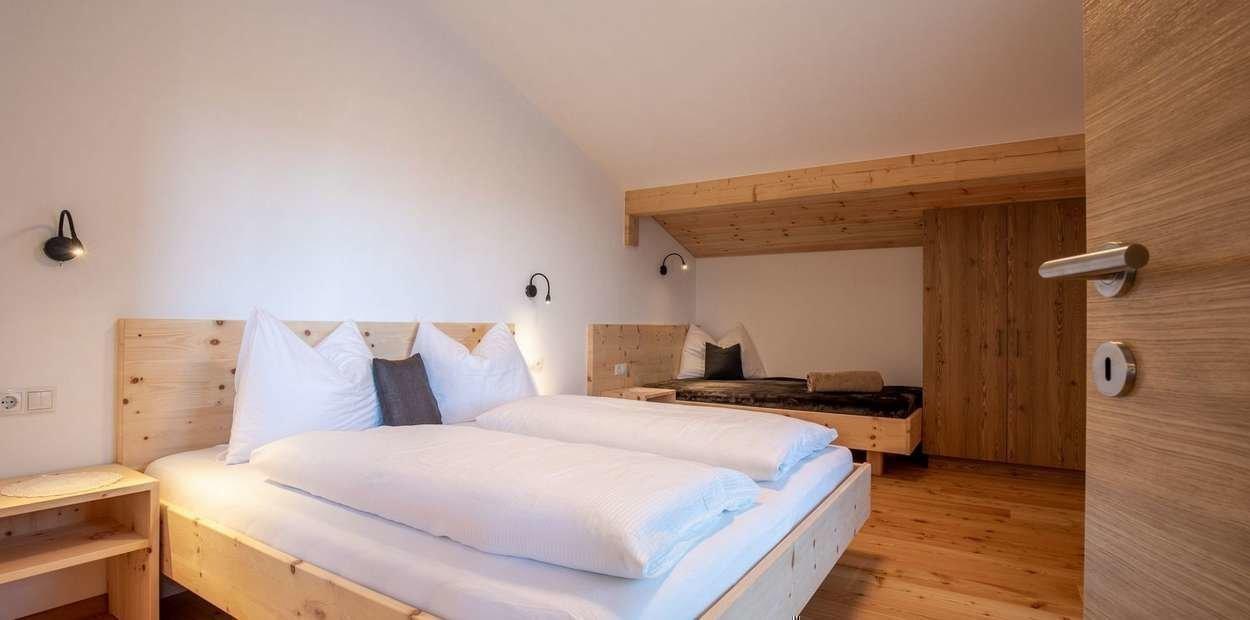 Appartamento Zirbe Camera di letto