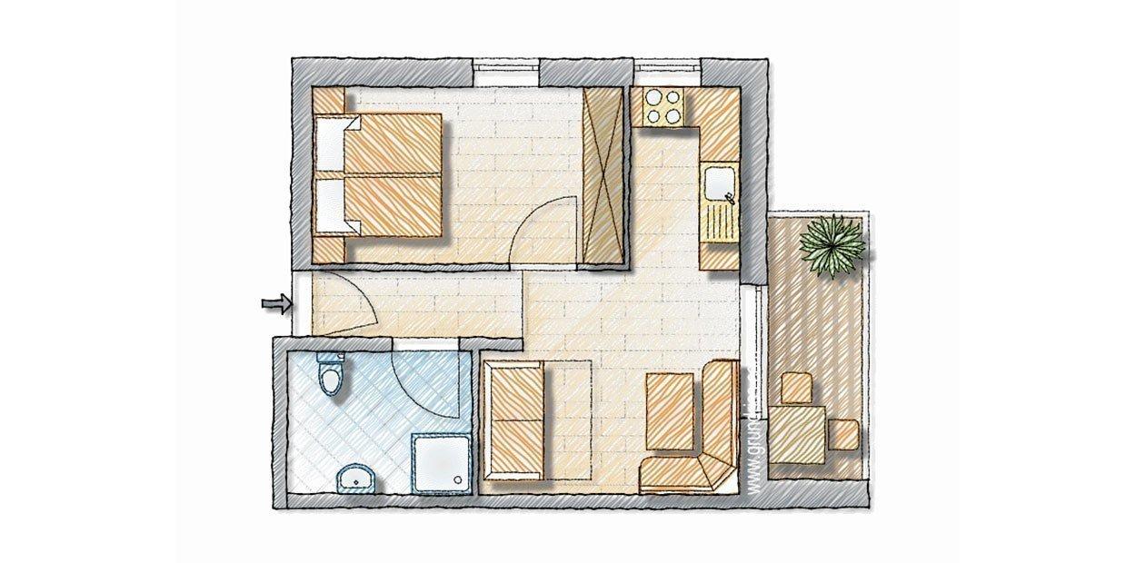 "Appartamento ""Sonnenblume"""