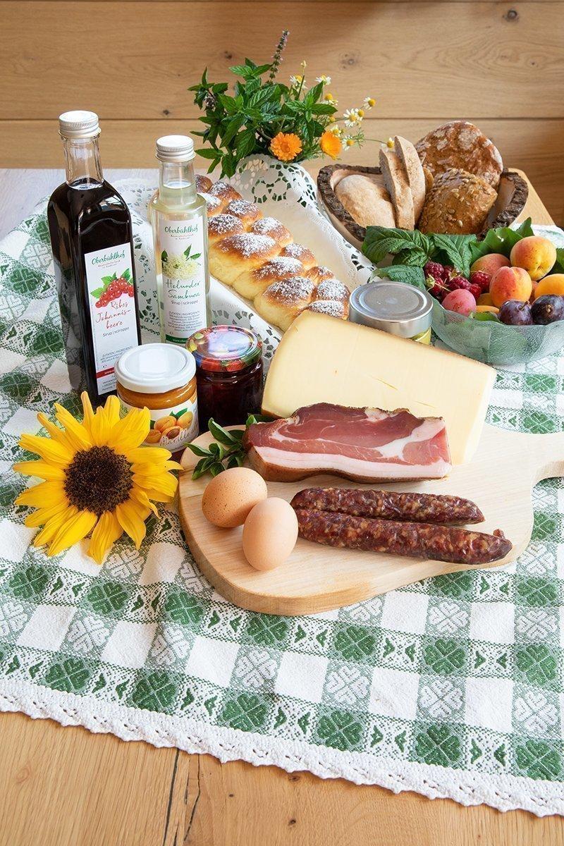 Frühstück & Hofprodukte Leckere Sachen direkt vom Bauern