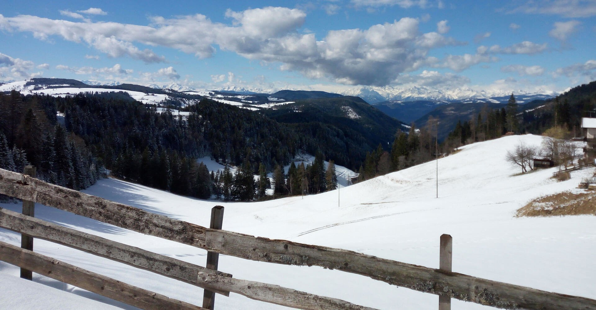 Winterurlaub Latemar in Südtirol